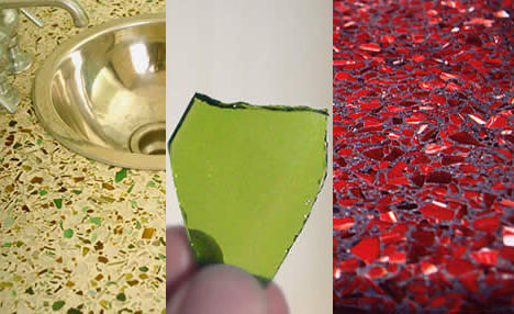Recycled Glass Countertops: An Eco Choice for Your Outer Banks Home